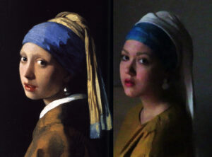 Vermeer | Remake by Lisa Costin