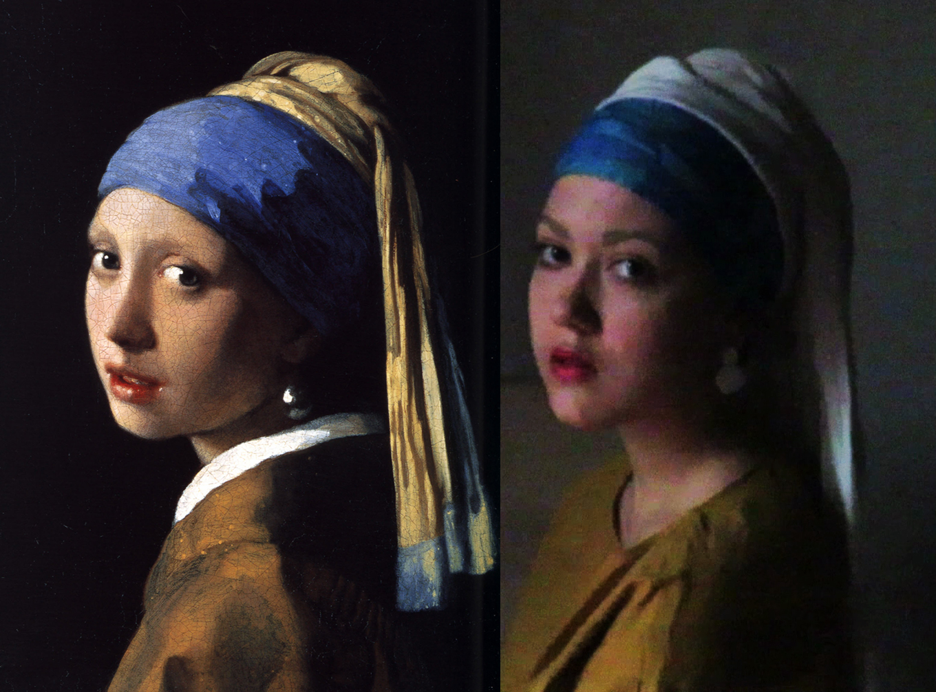 Vermeer | Remake by Lisa Costin