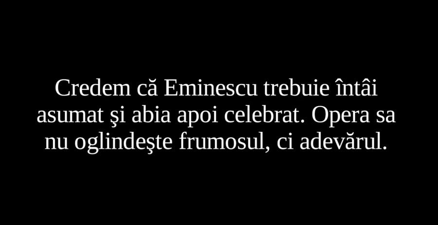 Eminescu. Reality check