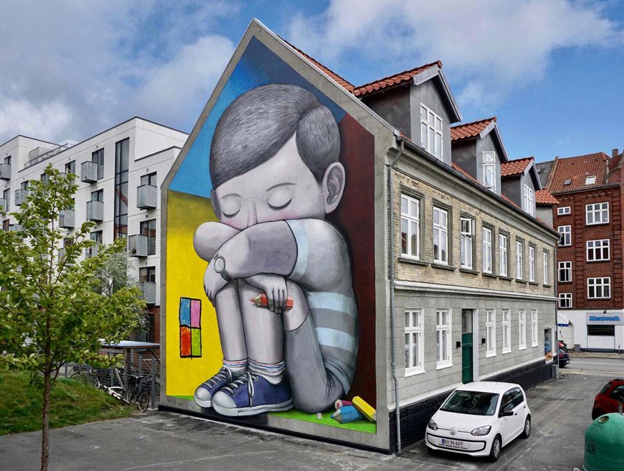 Graffiti à la manière de SETH